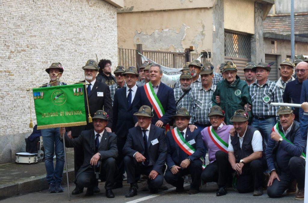 """14 Ottobre 2018 – """"Vercelli, Radunio del Primo Raggruppamento Alpini, Oleggio e la sua Premiata Banda Filarmonica"""" –"""