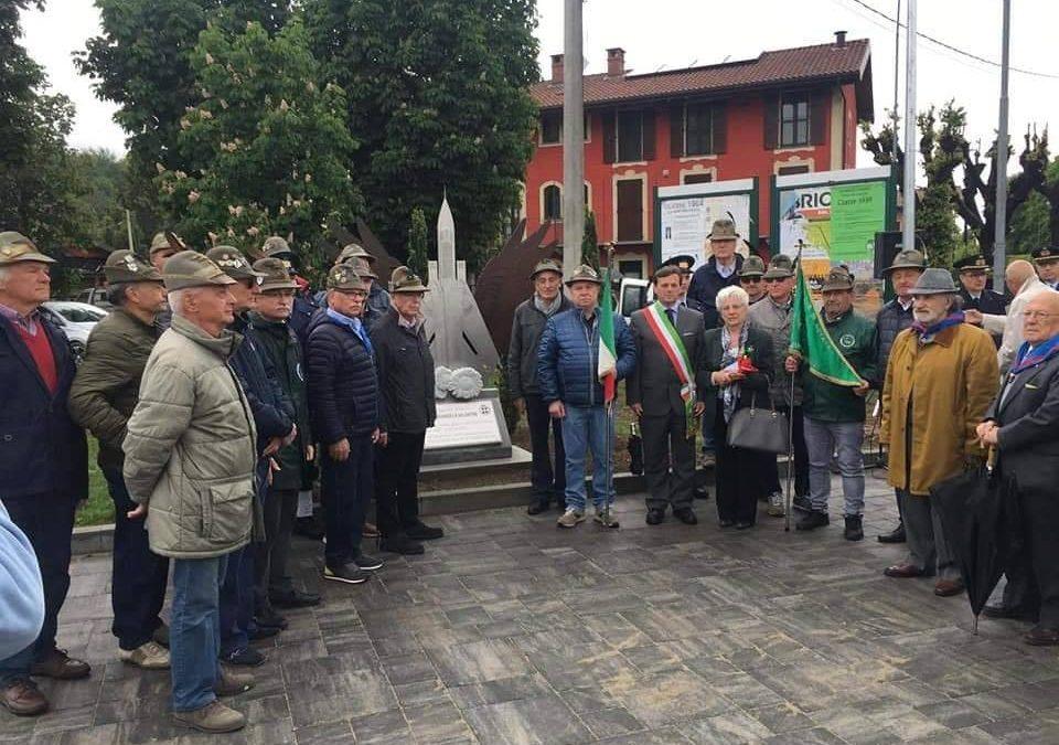 19 Maggio 2019 – Inaugurazione monumento in ricordo del Maggiore Pilota, Mariangela Valentini –